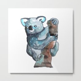 the koala awesome Metal Print