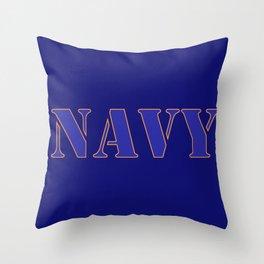 U.S. Navy  Throw Pillow