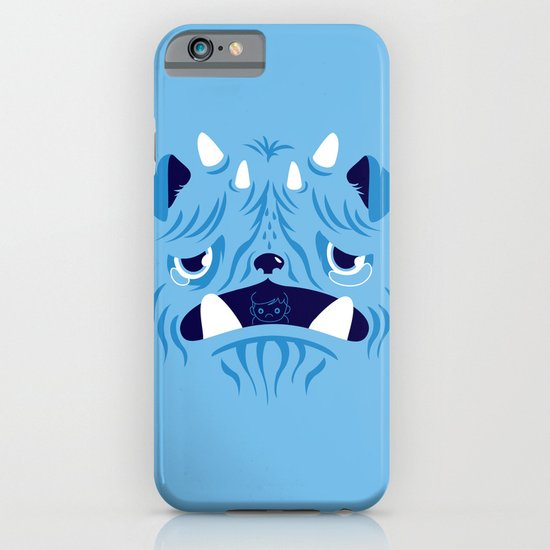 The Bluest Monster Ever :(( iPhone & iPod Case