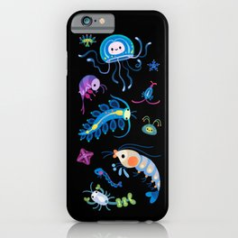 Zooplankton iPhone Case