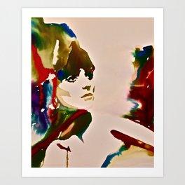 Dyed Art Print