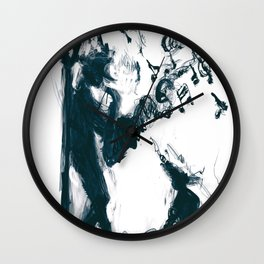 Jazz Dog Wall Clock