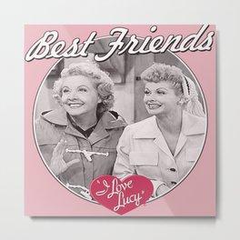 Lucy & Ethel Metal Print