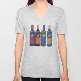 in vino veritas Unisex V-Neck