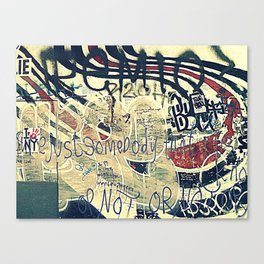 Elliott Smith Memorial Wall Canvas Print