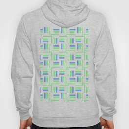 Abstract Windmills Pattern Hoody