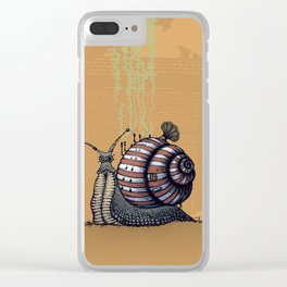 Snail level 2 Clear iPhone Case