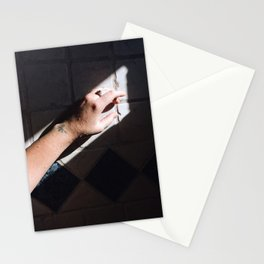 Light Parallels Stationery Cards