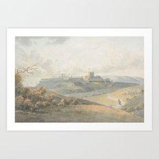 John 'of Canterbury' Martin (fl. 1782-1808) Dover Castle Art Print