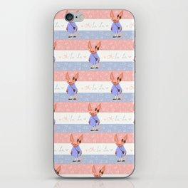 Oh- La-La! iPhone Skin
