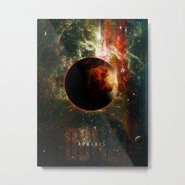 DUNE Planet Arrakis Poster Metal Print