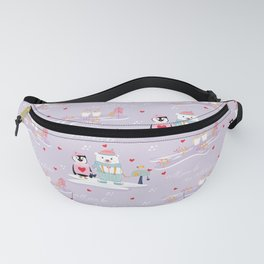 Will you be my Valentine? Fanny Pack