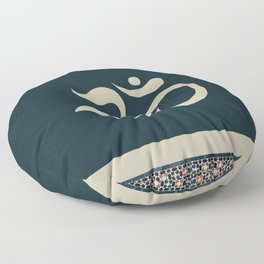 Mosaic Om Floor Pillow