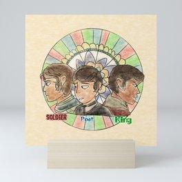 Soldier Poet King - SPN Mini Art Print