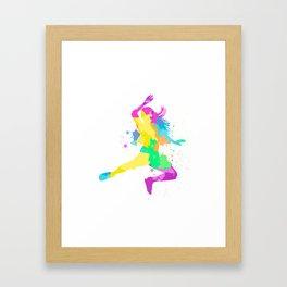 Free time game Framed Art Print