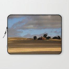 Rural Landscape and Farmhouse in Australia Laptop Sleeve