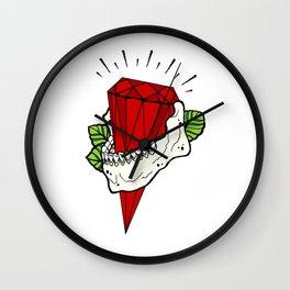Luxury death Wall Clock