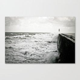 Landscape English Pier Canvas Print