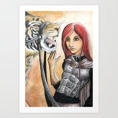 Jerecy Art Print