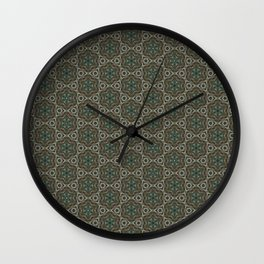 Autumn Desert Wall Clock