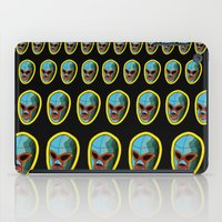 majoras mask iPad Cases featuring mask by mark ashkenazi