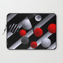 opart balls -1- Laptop Sleeve
