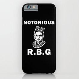 Notorious RBG iPhone Case