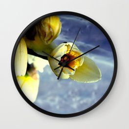 only nature is perfect Wall Clock