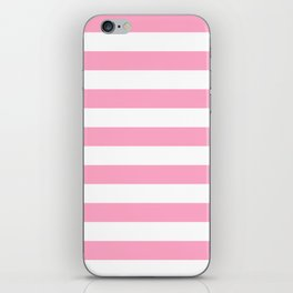 Pink Stripes iPhone Skin