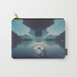Face on a river surface Carry-All Pouch