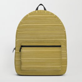 Primrose Yellow Weathered Whitewash Wooden Beach House Backpack