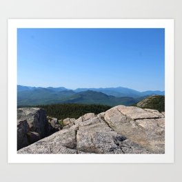 Mount Chocorua Art Print