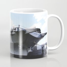 The Intrepid Sea Air and Space Museum in New York City will be the new home of the space shuttle Ent Coffee Mug