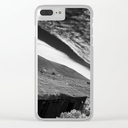 Mining town Clear iPhone Case