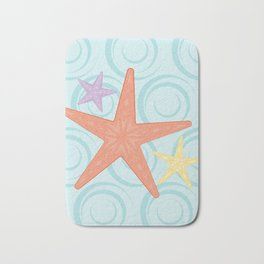 Shock Cousteau Starfish Bath Mat
