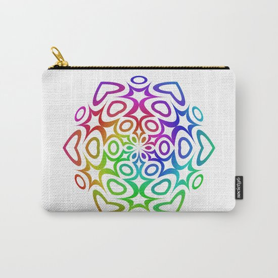Rainbow ornament Carry-All Pouch