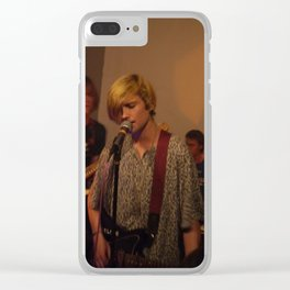 DIIV early day at Brooklyn Clear iPhone Case