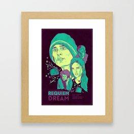 Requiem For A Dream Framed Art Print