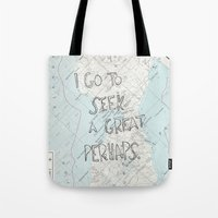 looking for alaska Tote Bags featuring Looking for Alaska by Hoeroine