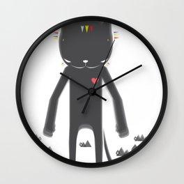 BLACK POND 2 Wall Clock