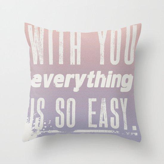 Everything Throw Pillow