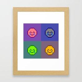 Emoji Board Framed Art Print