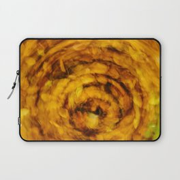 Fall Leaves Long Exposure Motion Abstract Laptop Sleeve