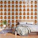 Cute Kitty Hidden Inside a Pumpkin by manudesign