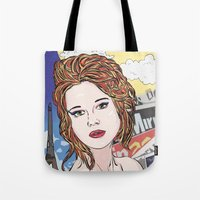 france Tote Bags featuring France by • PASXALY •