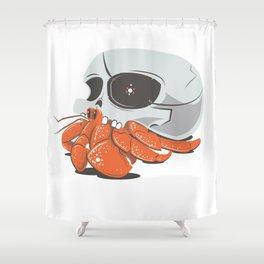 Skull House - One-Eyed Willie Shower Curtain