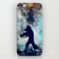 rocket raccoon iPhone & iPod Skins featuring Rocket Raccoon by Luca Leona