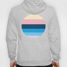 Pastel Blue & Pink Pattern Hoody