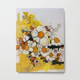 The Yellow Wallpaper Metal Print