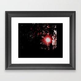 our star Framed Art Print